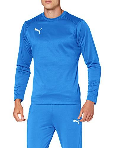 PUMA Liga Training Sudadera, Hombre, Electric Blue Lemonade/White, XL