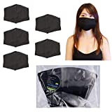 5 Pack Anti Dust Mask Cover, Made In Taiwan, Washable, Reusable Polypropylene fibers