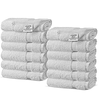 Chakir Turkish Linens Turkish Cotton Luxury Hotel & Spa Bath Towel, Wash Cloth - Set of 12, White (B00IOWFCCC) | Amazon price tracker / tracking, Amazon price history charts, Amazon price watches, Amazon price drop alerts