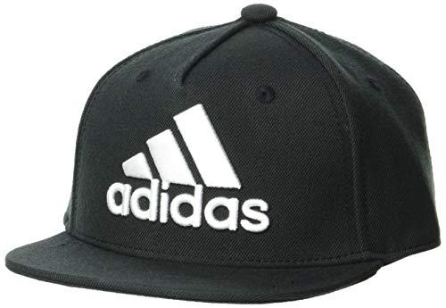 Adidas Czapka z daszkiem z logo, czarna/biała, GM4984