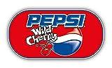 Pepsi Wild Cherry Logo - 5 Inch Sticker Graphic - Auto Wall Laptop Cell phone Bumper Window Decal Sticker