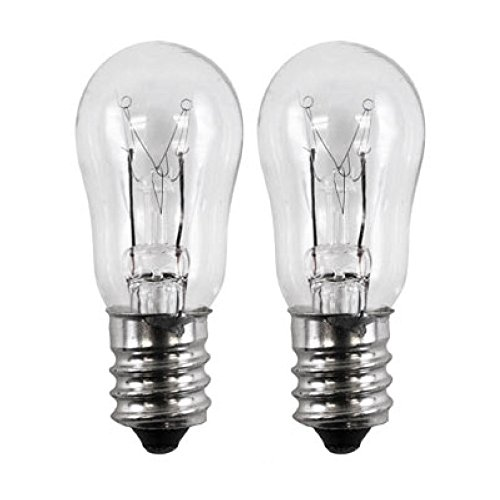 2 Pack - General Electric WE4M305 Dryer Light Bulb. 10-watts