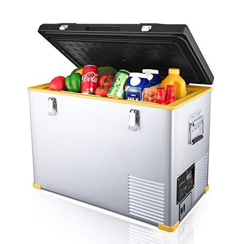SetPower RV45 Portable RV Refrigerator, Single Zone Car Fridge Freezer, DC 12/24V, AC 110-240V, 0℉ to 50℉, Home & Car Use (47 Quarts)