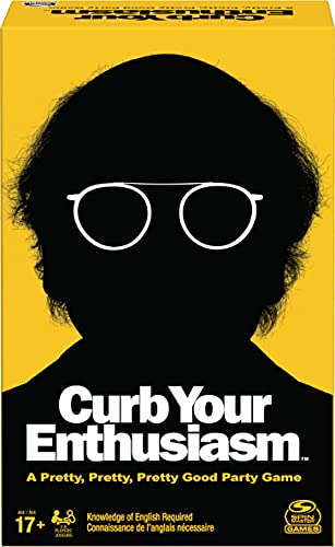 Curb Your Enthusiasm Hilarious Role-Playing Party Card Game, Ages 17 and Up