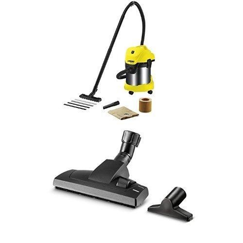 Karcher WD3 Premium Aspiratore Multifunzione più Set accessori per la pulizia della casa