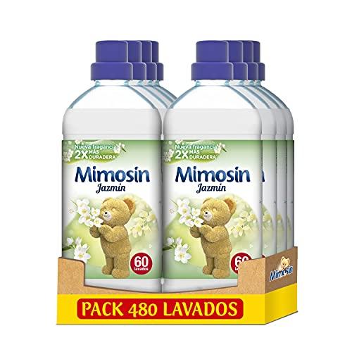 Mimosin Suavizante Concentrado Jazmín 60 lavados - Pack de 8
