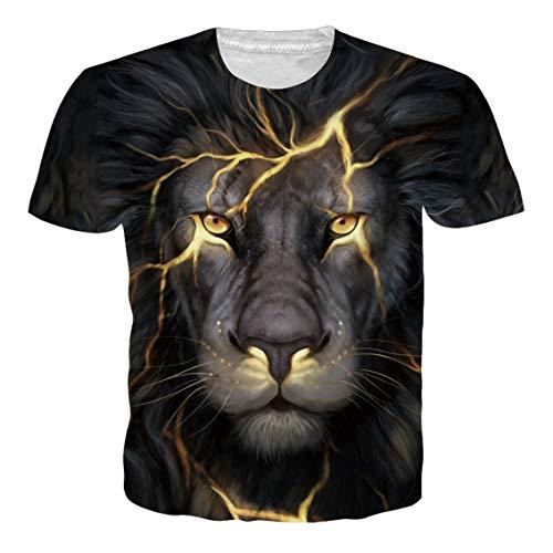 Rave on Friday Camisetas para hombres adultos impresión 3D verano manga corta camisetas casual Tops camisetas