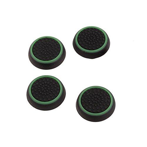 YaptheS 4 Piezas de Silicona de Agarre del Pulgar Covers Playstation regulador del palillo Cubre el reemplazo Joystick Cap Compatible con PS3 / PS4 / Xbox One/Xbox Accesorios del Juego del Equipo