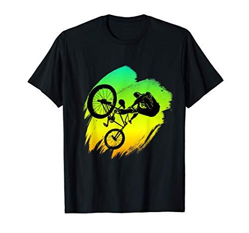 Cool Bmx Stunt Mountain Bike Regalo Maglietta