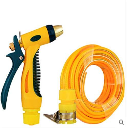 Di rame ad alta pressione Car Wash Water Gun Tubo da auto Car Wash Set Water Gun strumento di lavaggio auto forniture Strumenti, giallo Sedia pieghevo