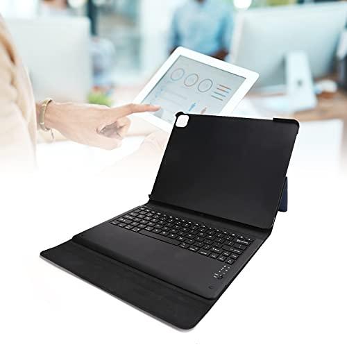 Funda Delgada para Soporte, Estuche para Teclado Bluetooth Teclado inalámbrico Teclado Ultrafino a Prueba de Golpes para Tableta Portátil para Llevar y almacenar