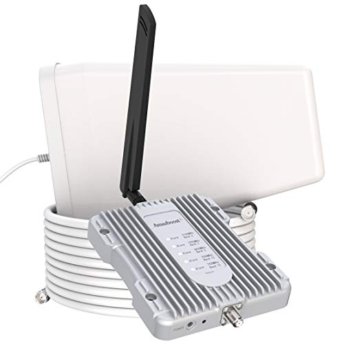 Amazboost Cell Phone Booster for Home -Up to 2,500 sq ft,Cell Phone...