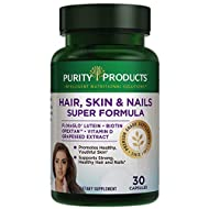 Purity Products - Hair, Skin and Nails Super Formula,30 Capsules