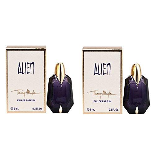 Damen-Parfüm Thierry Mugler Alien, Miniatur, 2 Stück, Kollektion Eau De Parfum 6 ml