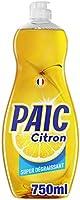 PAIC - Liquide Vaisselle Paic Citron Super dégraissant - Pour une Vaisselle Propre et Brillante - Élimine les Graisses...