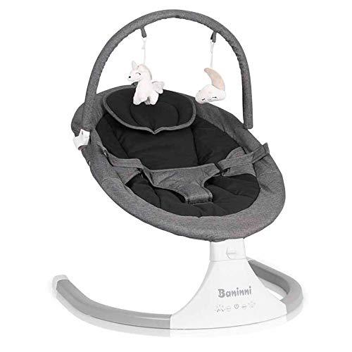 Baninni Babyschaukel Rubia Dunkelgrau | 0 bis 6 Monaten | inklusive Adapter