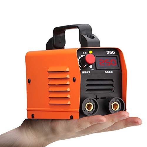 Saldatrice IGBT Portatile Elettrodo Corrente Continua,220V, 250A Saldatrice Inverter Elettrodo,Saldatrice Elettrica Domestica,Con Accessori