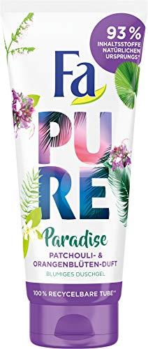 Fa Duschgel Pure Paradise Patchouli- & Orangenblüten-Duft, 200 ml