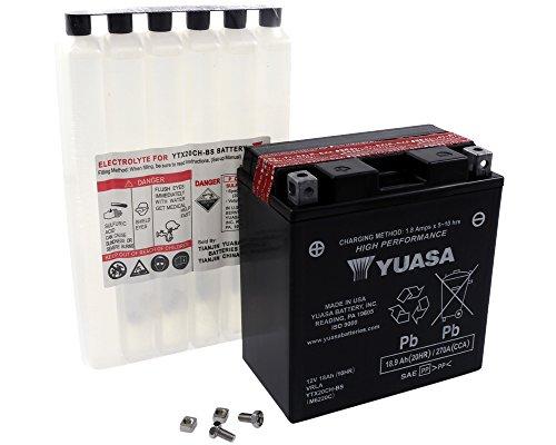 Batterie YUASA–ytx20ch-bs wartungsfrei für SUZUKI lt-a750King Quad 750ccm Baujahr 07–13