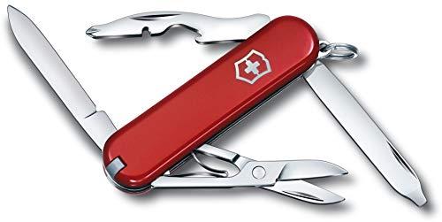 Victorinox Rambler Klein zakmes, 10 functies, Phillips-schroevendraaier, schaar, rood
