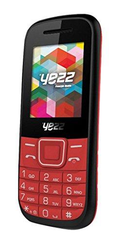 Yezz Yezz Bar Phone C21A Teléfono Móvil, Dual SIM, Color Rojo [Italia]