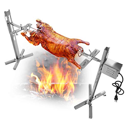outdoor pig rotisserie - 8