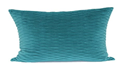 Brentwood Originals Ripple Pillow, Teal
