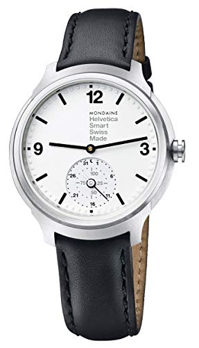 Mondaine Helvetica No1 Bold Stainless Steel Mens Smartwatch MH1.B2S10.LB...