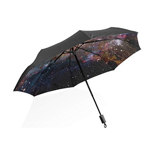 Paraguas de golf Xl Elementos de nebulosa Galaxy a prueba de viento...