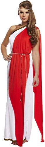 fancy dress roman greek lady fits 10-14 by henbrandt