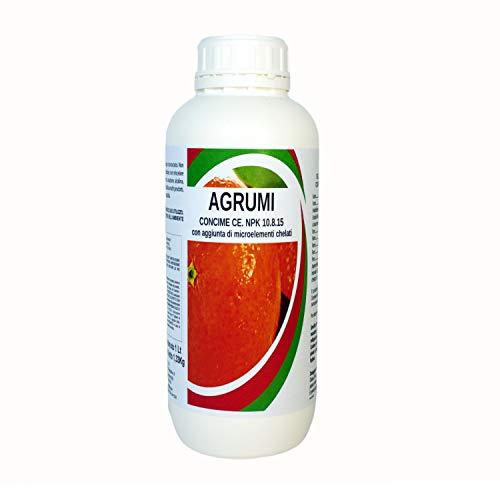 Bio A.L.T. Concime Liquido Biologico Naturale Specifico Fertilizzante per Agrumi Arance Limoni Migliora la Crescita delle Colture in Giardino per Piante in Appartamento in Esterno anche in Vaso 1 Lt