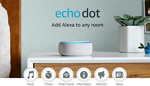 Echo Dot (3rd Gen) - Smart speaker with Alexa -...