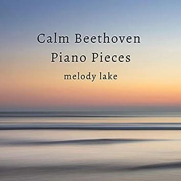 Calm Beethoven Piano Pieces