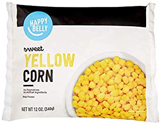 Amazon Brand - Happy Belly Frozen Sweet Corn, Whole, 12 Ounce