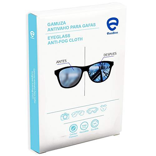 ErenBros Gamuza de Microfibra Antivaho para Gafas | Efecto duradero | Sin olor | Limpieza en seco