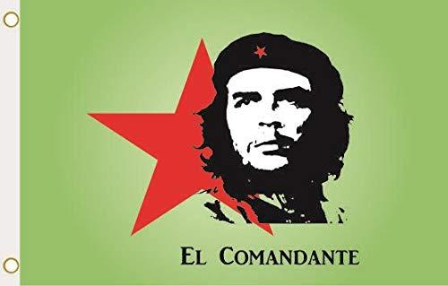 U24 Flagge Fahne Che-Guevara grün 90 x 150 cm