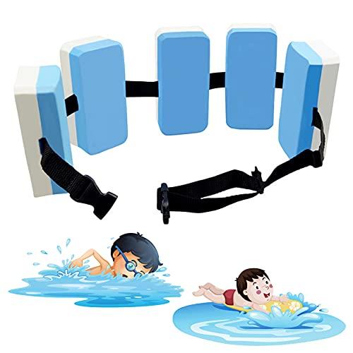 Kids Swimming Belt, Professional Swim Back Float, Aquatic Training Auxiliary Floating Board, Buoyancy Belt for Swim Beginner