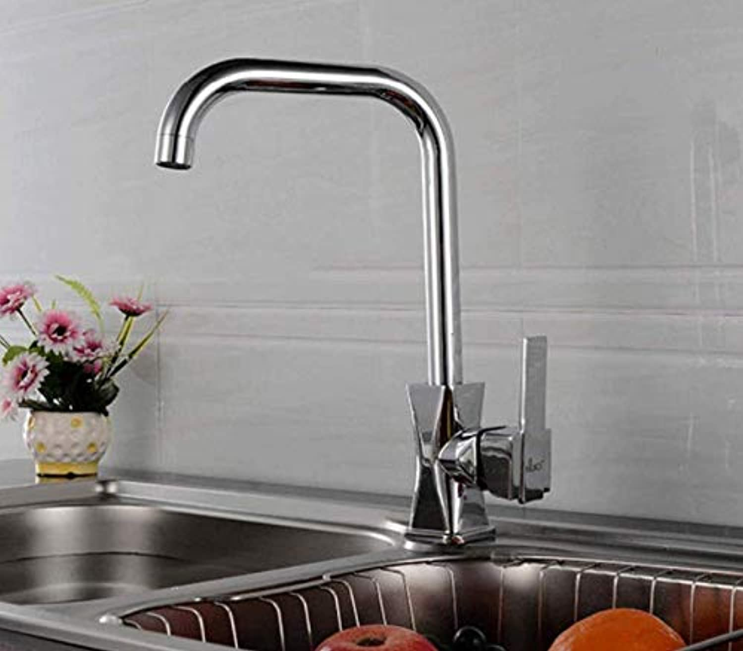 Water Tap Taps Faucet Hot and Cold Water Faucet Kitchen Sink Faucet 7 Word Water