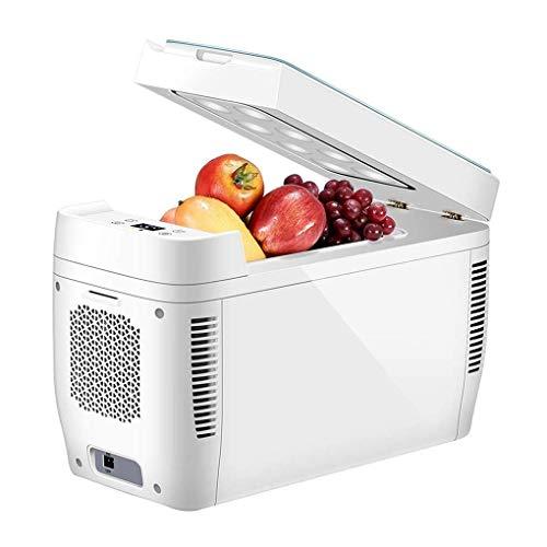 OutingStarcase Mini refrigerador portable eléctrico y calentador, DC/AC Refrigeradores compactos, for el coche y el hogar