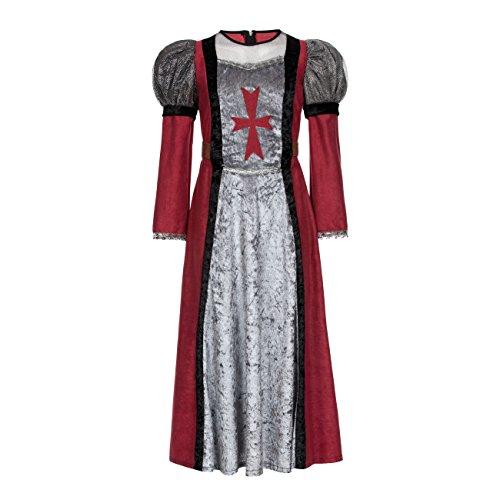 Kostümplanet® Kostüm Edeldame Burgfrau Kostüm Mittelalter für Kinder Mädchen Größe 116