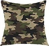 Camouflage Pattern Military Backgound Dekokissen Abdeckung Platz Kissen Fall Startseite dekorativ...