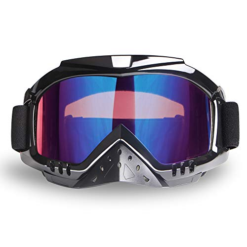 Motocross Goggles ATV Goggles Anti Fog Skiing Goggles Motorcycle Goggles Snowboarding Goggles Riding Goggles Dirtbike Powersports Goggles UV400 Anti-Scratch Dustproof Offroad Goggle MX Goggles