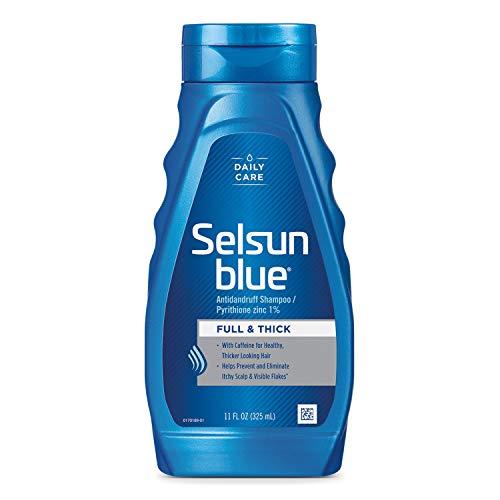 Selsun Blue Shampoo Dandruff For Fuller/Thicker Hair 11oz