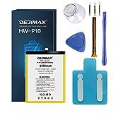 DEJIMAX Haute Capacité 3300mAh P10 / Honor 9 Remplacement de la Batterie pour Huawei P10 / Honor 9,...