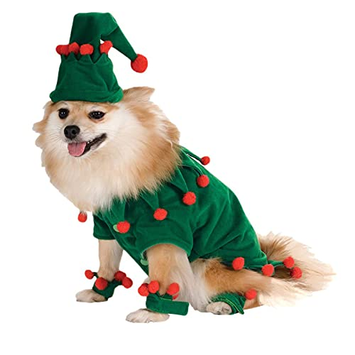 LWKBE Disfraz de Mascotas Perro Perro Mascotas Traje Christmas Disfraces de Halloween Mascotas Ropa para Pequeos Perros Y Gatos,Verde,M