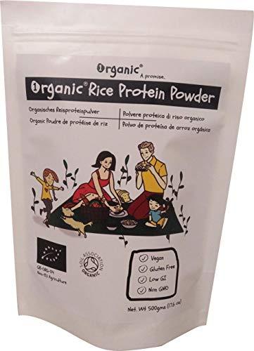 Integratori di proteine di riso
