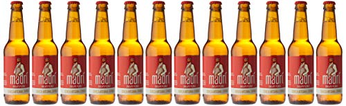 Madrí Cerveza de Estilo Pilsner - 12 botellas x 330 ml - Total: 3960 ml