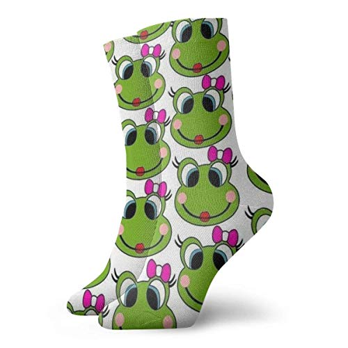 Calcetines Casuales Frog Animal Printed Sport Athletic Calcetines Calcetines de compresión Calcetines de...
