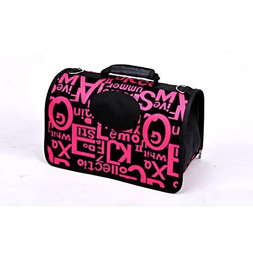 HLYMNB Transporte Plegable Dopet Carrier Bag Travel Productos para Exteriores Bolso para Perros Bolsos Chihuahua Portátil Pet Comfort Travel Tote E