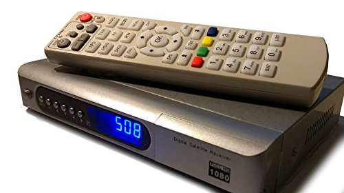 DVB S2 HD Satellite Receiver, Free to air FTA with AC3 1080P Blind scan. Great for C Band and KU...